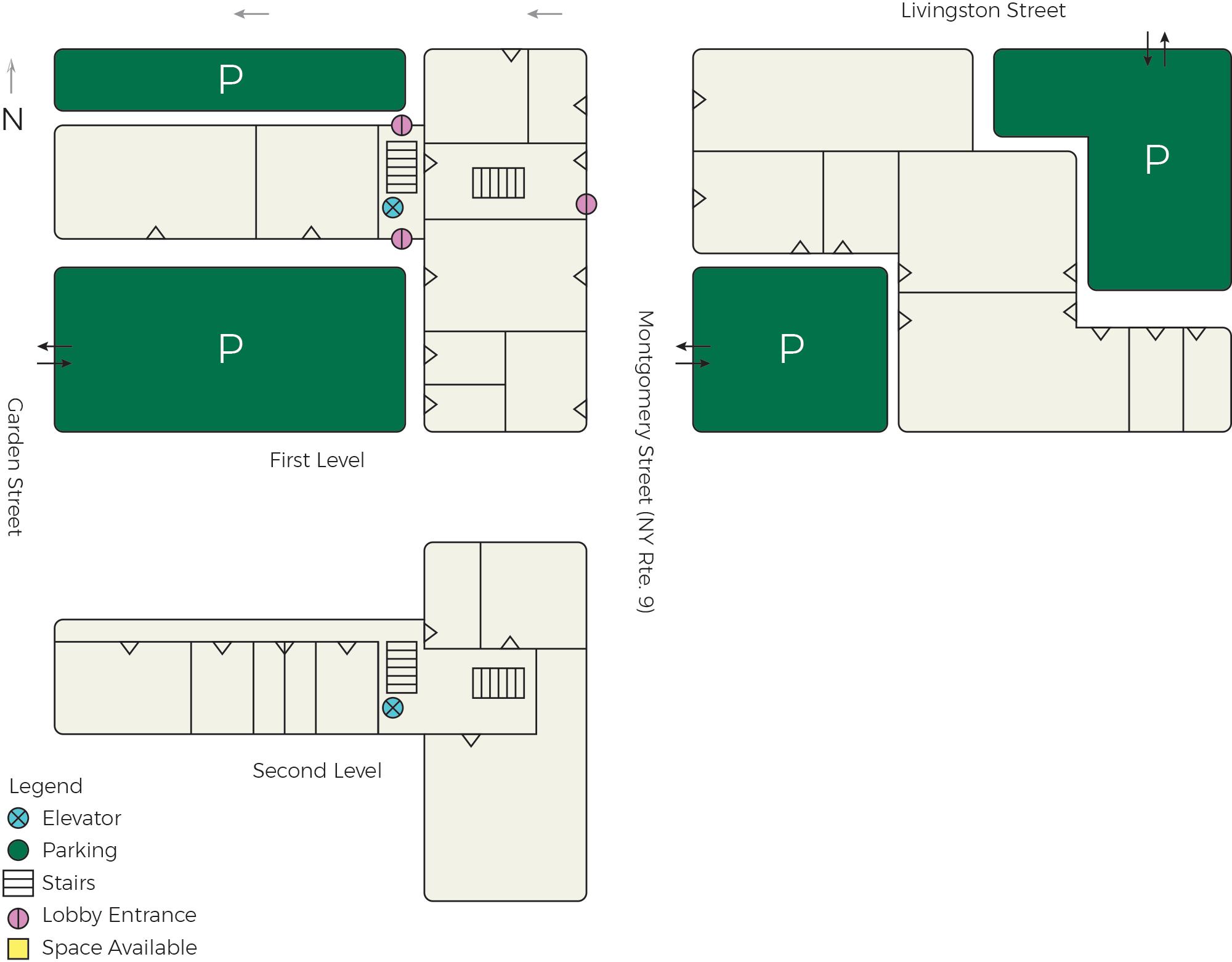 Montgomery Row Map