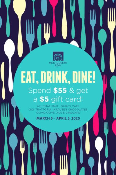 Eat Drink Dine Montgomery Row